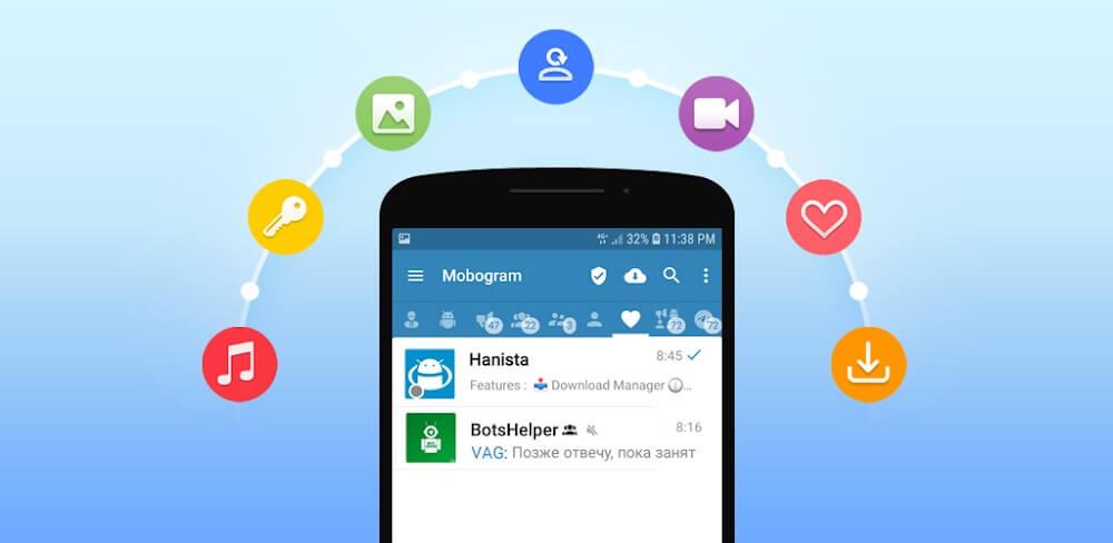 دانلود Mobogram 2 نسخه جدید برنامه موبوگرام دوم برای اندروید