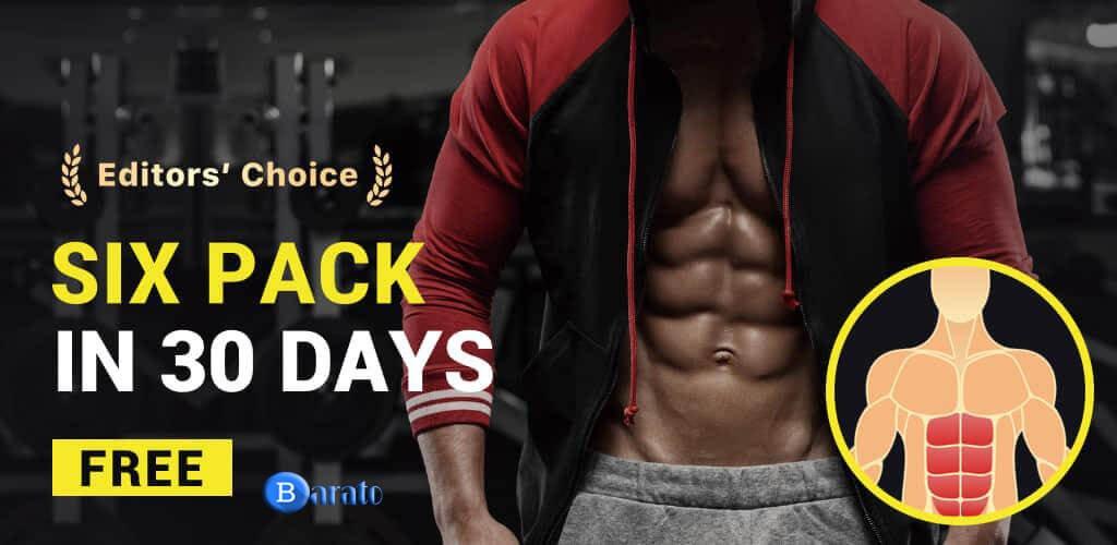 دانلود Six Pack Abs اپلیکیشن شکم شش تکه در ۳۰ روز برای اندروید