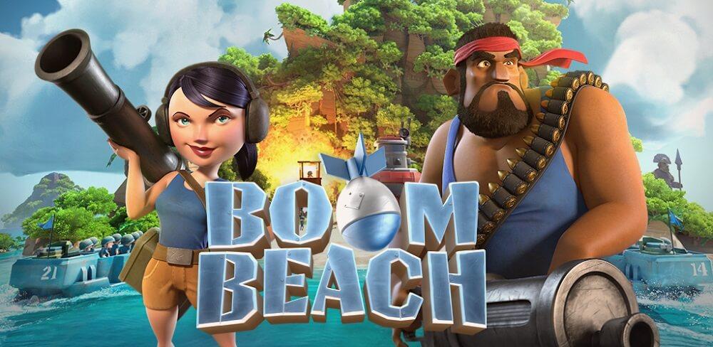 دانلود Boom Beach 37.125 آپدیت جدید بازی بوم بیچ برای اندروید