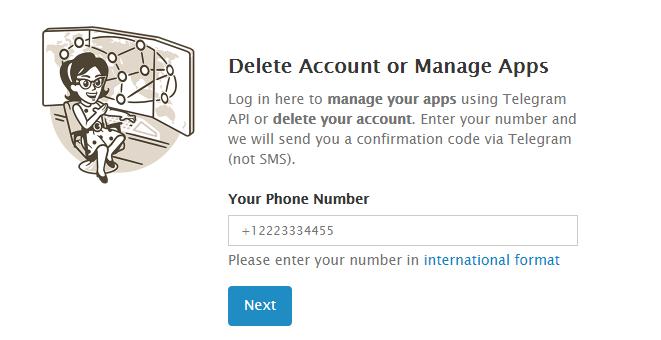 آموزش کامل حذف اکانت تلگرام - دیلیت اکانت تلگرام اندروید