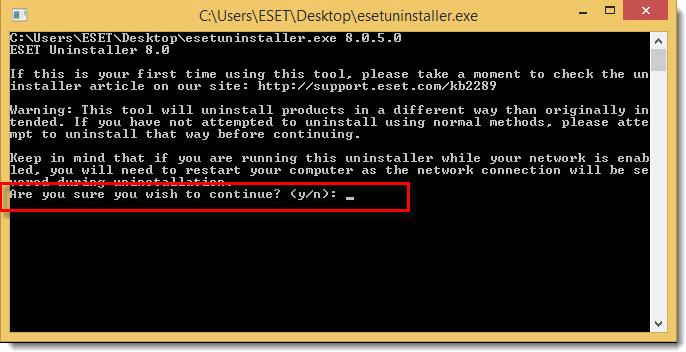 آموزش ESET Uninstaller حذف آنتی ویروس نود 32 از کامپیوتر - ویندوز 10