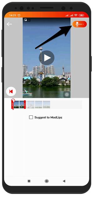 آموزش تصویری اضافه کردن فیلم از گالری در مدلیپز madlipz اندروید