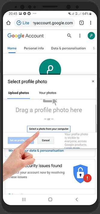 آموزش تصویری قرار دادن عکس برای اکانت پابجی موبایل در اندروید