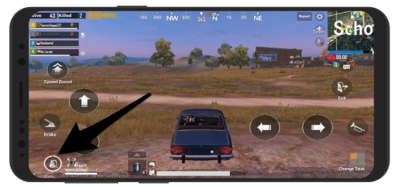 آموزش بنزین زدن خودرو در پابجی موبایل PUBG