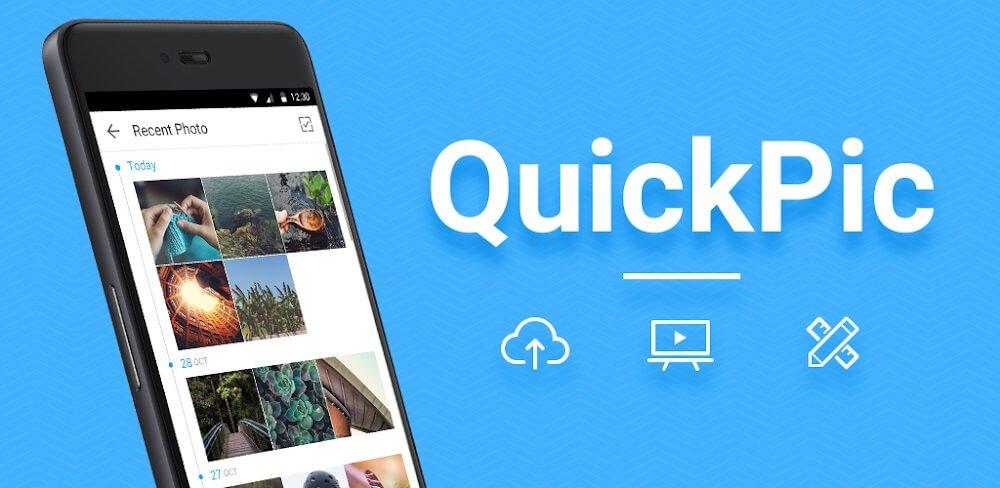 دانلود QuickPic 7.6 کوییک پیک قویترین نرم افزار نمایش عکس برای اندروید