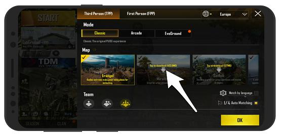 آموزش تصویری دانلود نقشه های بازی پابجی موبایل - دانلود مپ های pubg mobile