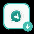 دانلود GBWhatsApp Cleaner 1.00 برنامه حذف کش واتساپ پاک کردن فایل های دانلود شده در اندروید