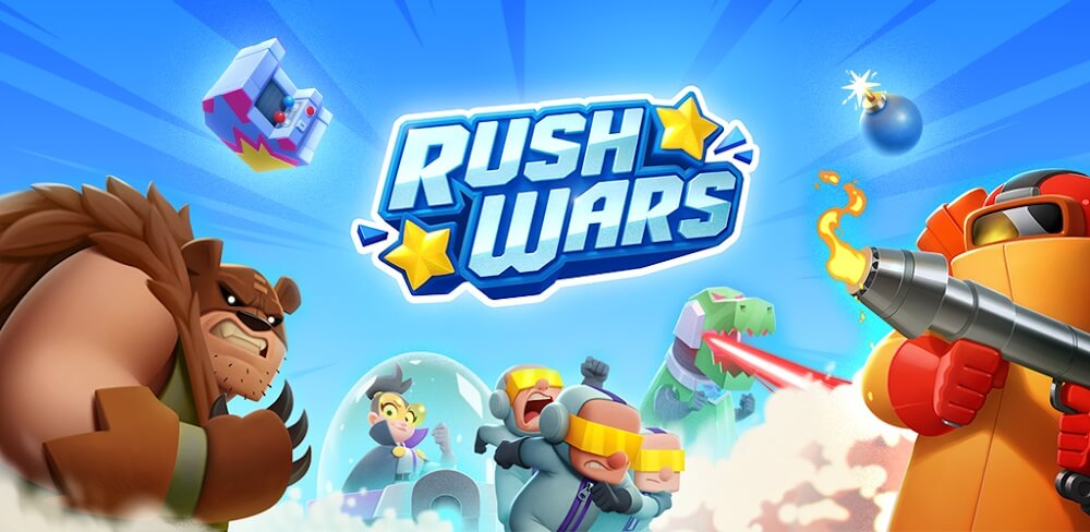 دانلود Rush Wars 0.64 نسخه جدید بازی راش وارز از سوپرسل برای اندروید
