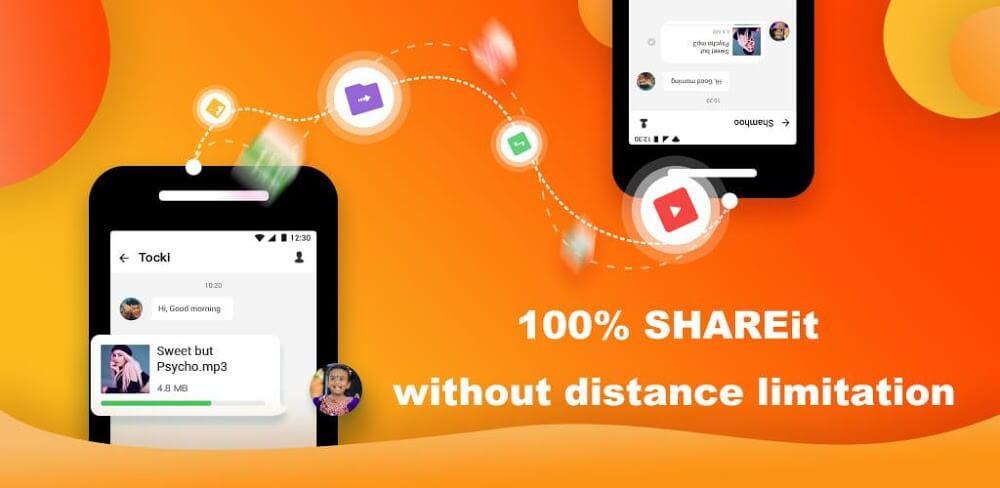 دانلود SHAREit Lite 2.1.12 نسخه جدید شریت لایت انتقال با سرعت فایل برای اندروید