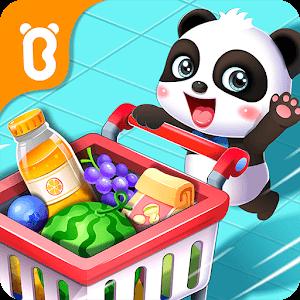 دانلود Baby Panda's Supermarket 8.36.00.12 بازی سوپرمارکت پاندا کوچولو برای اندروید