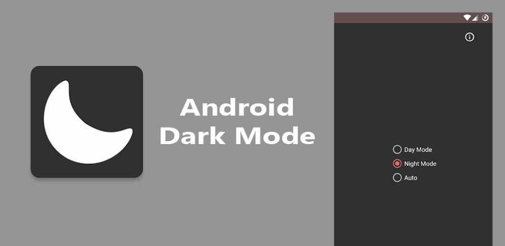 دانلود Dark Mode نسخه جدید اپلیکیشن دارک مود برای اندروید - حالت تاریک اینستاگرام