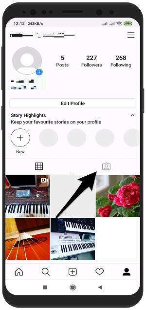 حذف تگ های خود از روی تصاویر دیگران در اینستاگرام اندروید - جلوگیری از تگ شدن در اینستاگرام