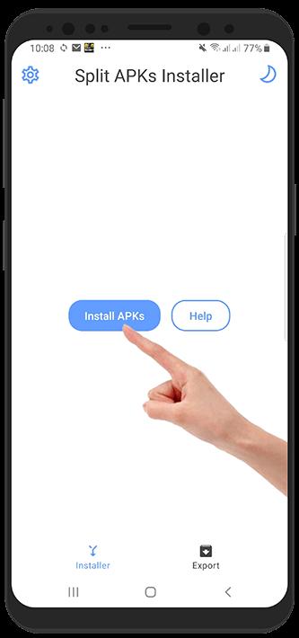 آموزش نصب فایل apks در گوشی اندروید - برنامه و بازی های چند فایله