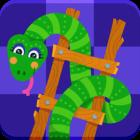 دانلود Snake and Ladder 1.8.1 نسخه جدید بازی مار و پله مدرن آنلاین برای اندروید