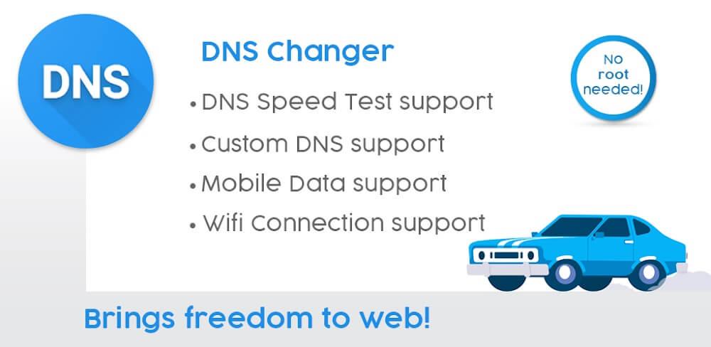 دانلود DNS Changer Pro 1193 برنامه دی ان اس چنجر پرو برای اندروید