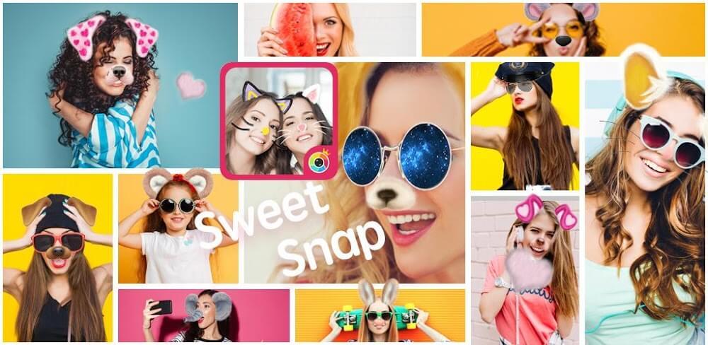 دانلود Sweet Snap 4.3.100 نسخه جدید برنامه سوییت اسنپ سلفی برای اندروید