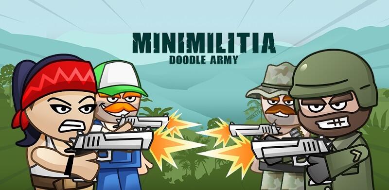 دانلود Mini Militia 2 5.3.2 نسخه جدید بازی مینی میلیتیا 2 برای اندروید