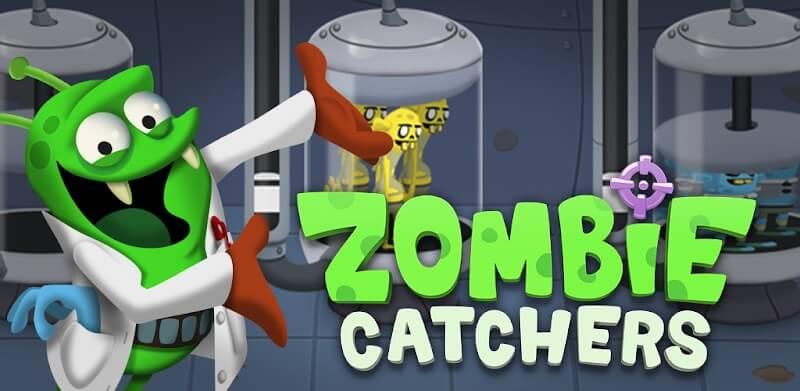 دانلود Zombie Catchers 1.30.7 نسخه جدید بازی گرفتن زامبی برای اندروید
