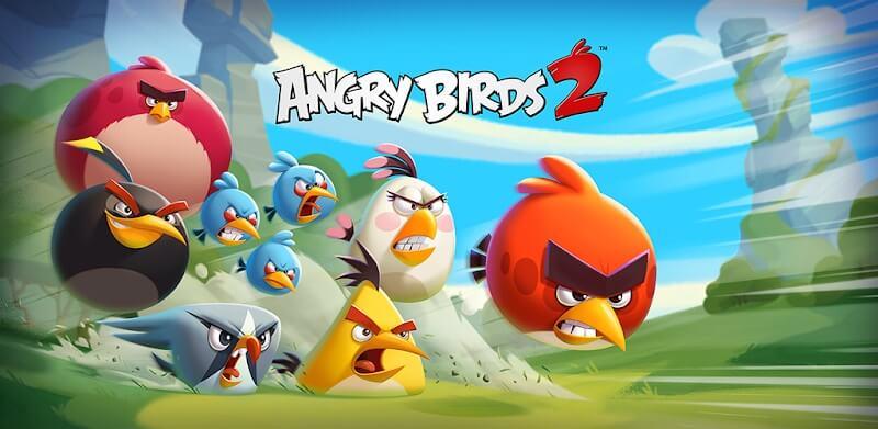 دانلود Angry Birds 2 بازی پرندگان خشمگین 2 - انگری بردز برای اندروید