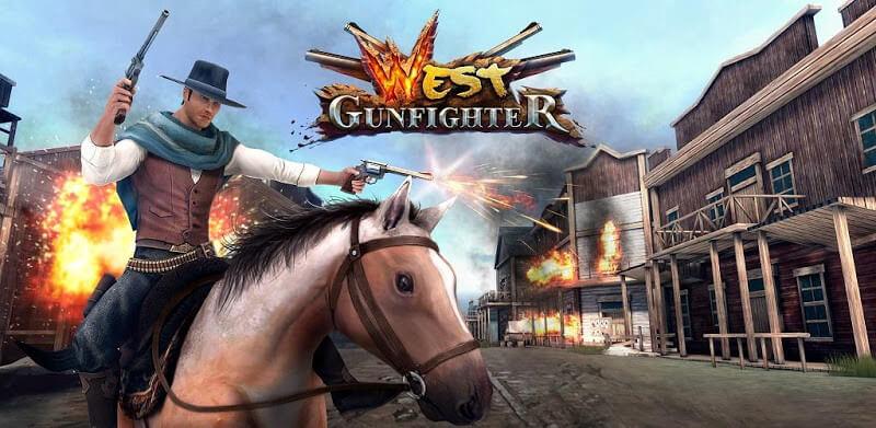 دانلود West Gunfighter 1.8 بازی وست گان فایتر مود - هفت تیر کش غرب وحشی با پول بی نهایت اندروید