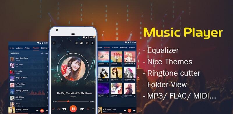 دانلود Music player 54.01 برنامه موزیک پلیر برای سامسونگ اندروید