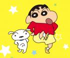 دانلود Crayon Shinchan تم جدید مسنجر لاین