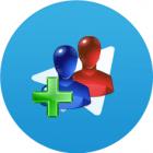 آموزش تصویری اضافه کردن مخاطب جدید به تلگرام اندروید